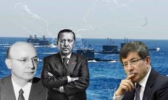 Αυτό Είναι το Σχέδιο της Τουρκίας για Αιγαίο και Αν. Μεσόγειο: Η «Γαλάζια Πατρίδα» (χάρτης)