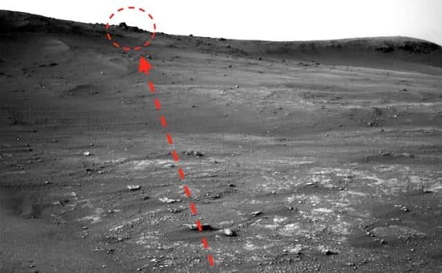 Εντόπισε Αρχαίο Ναό στον Πλανήτη Άρη