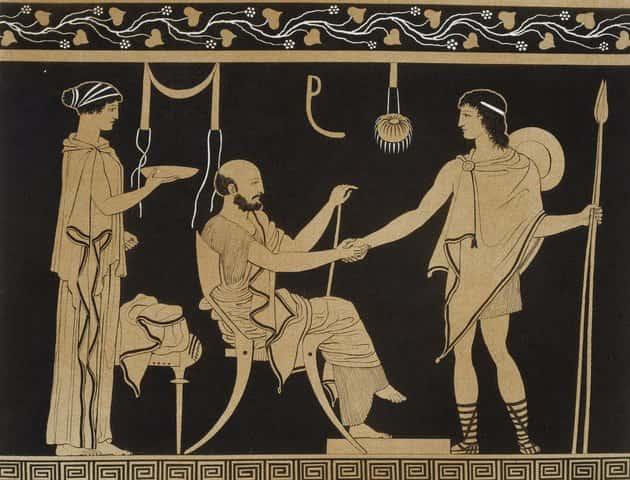 Στην Αρχαιότητα Έδιναν τα Χέρια για Έναν Τελείως Διαφορετικό Λόγο