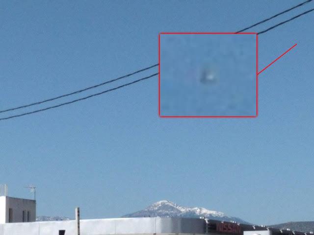 Θέαση Μεταλλικού UFO στον Ουρανό του Άργος (φωτογραφίες)