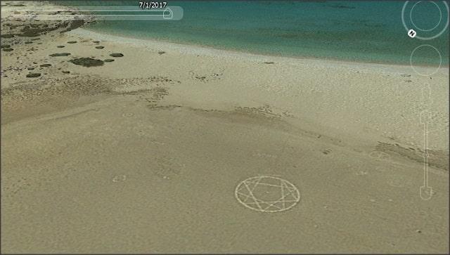 Η Μυστηριώδης Παραλία της Τρυπητής στη Γαύδο και το Παράξενο Σύμβολο