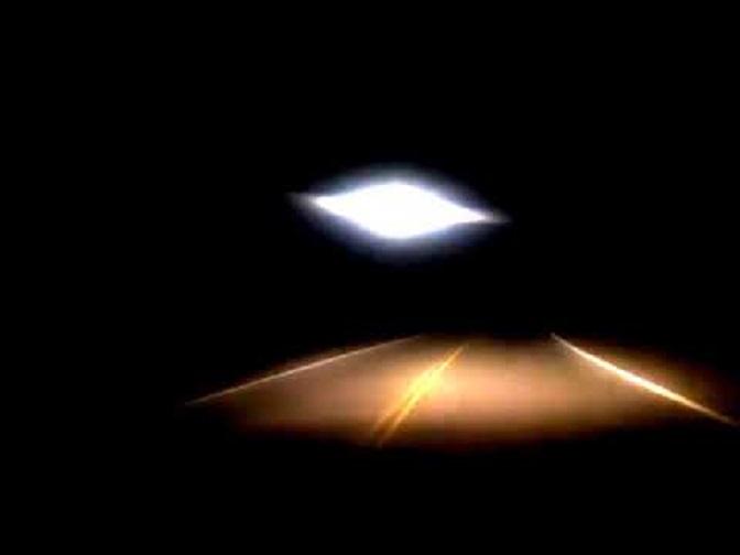 Φωτεινό UFO Καταγράφηκε σε Αυτοκινητόδρομο της Αργεντινής (video)