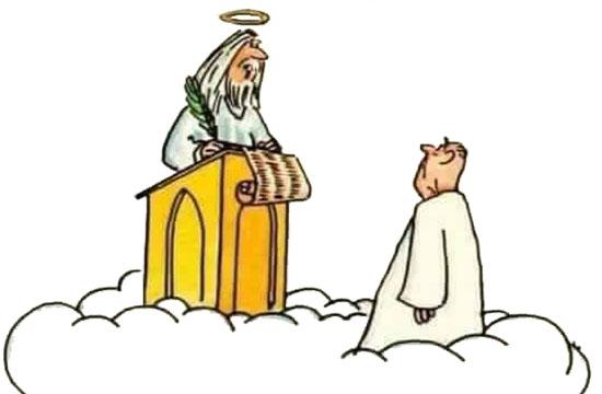 Ανέκδοτο: Σκάνε 10 άτομα στον Άγιο Πέτρο και τους στέλνει όλους στην Κόλαση εκτός από έναν