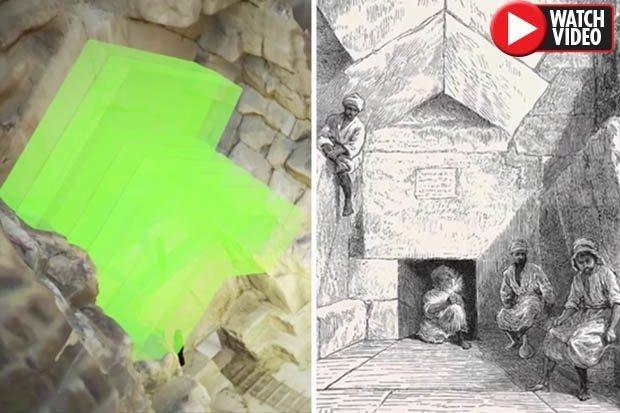 Ξεχασμένη Ανακάλυψη στη Μεγάλη Πυραμίδα ίσως Είναι το Κλειδί για για την Απελευθέρωση των Μυστικών της