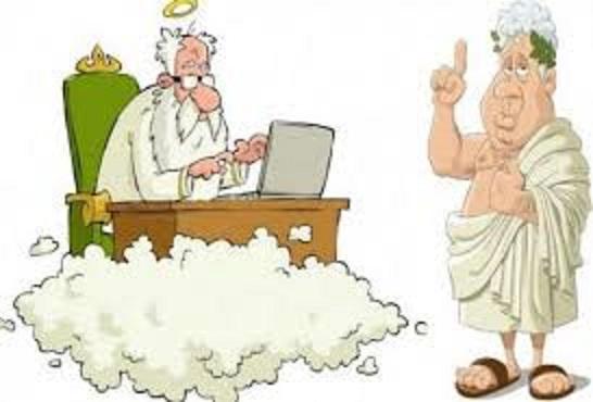 Ανέκδοτο: Όταν ο Θεός δημιούργησε τα έθνη