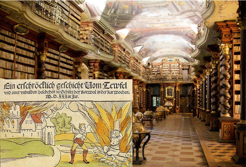 Κρύπτη με βιβλία μαγείας του Χίμλερ ανακαλύφθηκε σε Τσεχική βιβλιοθήκη κρυμμένη για 50 χρόνια…