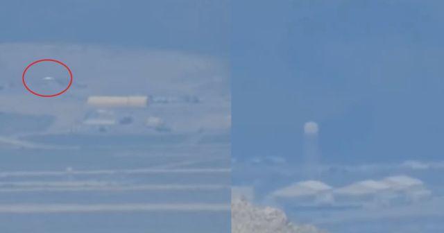 ΑΤΙΑ που Βγαίνει από την Περιοχή 51 Κατέγραψε Πεζοπόρος (video)