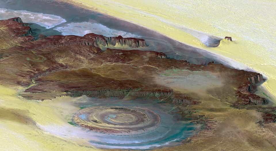 Τα Πετρογλυφικά 8.000 ετών που Βρέθηκαν στον Μεγαλύτερο Κρατήρα του Κόσμου