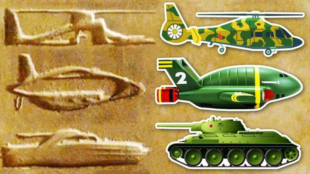 Αρχαία Ιερογλυφικά που Θυμίζουν Συσκευές του Σήμερα! Φαντασία ή Πραγματικότητα;