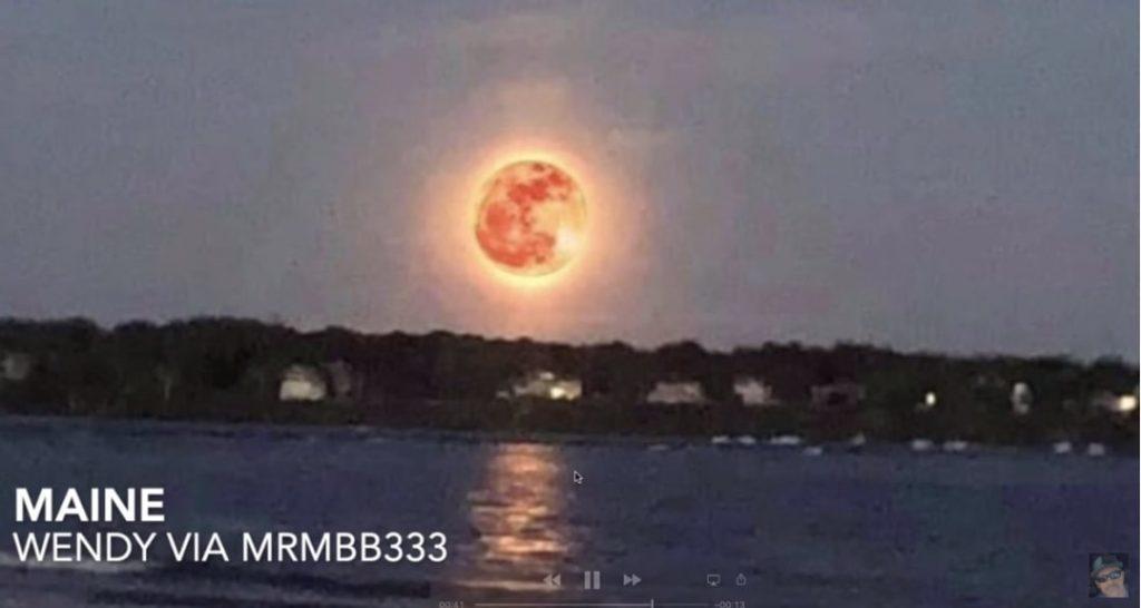 Τι Έπαθε η Σελήνη και Είναι Πυρακτωμένη; Γιατί Μοιάζει σαν να Είναι ο Ήλιος;;;