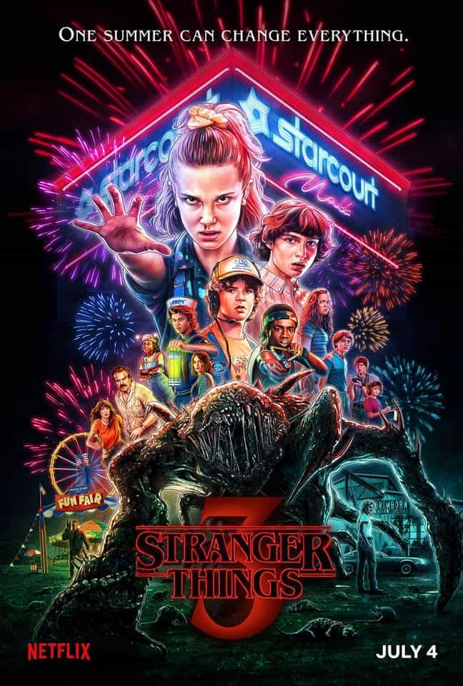 "Stranger Things: Η Αντίστροφη Μέτρηση και η Αφίσα που ""τα Σπάει"""
