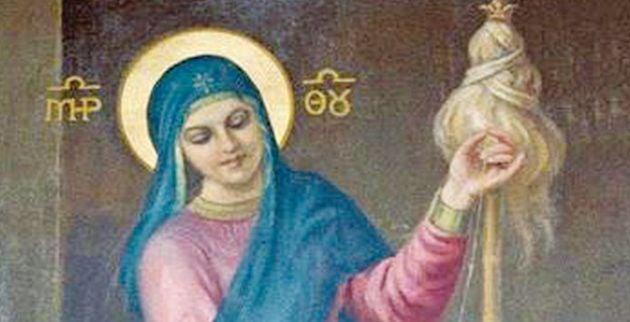 Τι Παρουσιάζει μία από τις Σπανιότερες Εικόνες της Θεοτόκου;