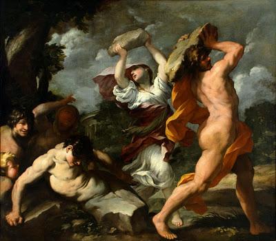 Γιατί ο Δίας εξαφάνισε με κατακλυσμό το διεφθαρμένο ανθρώπινο γένος και πώς δημιουργήθηκε ξανά η ανθρωπότητα; Από πού βγαίνει η λέξης «λαός» και γιατί λεγόμαστε Έλληνες; Η υπέροχη ελληνική μυθολογία έχει όλες τις απαντήσεις