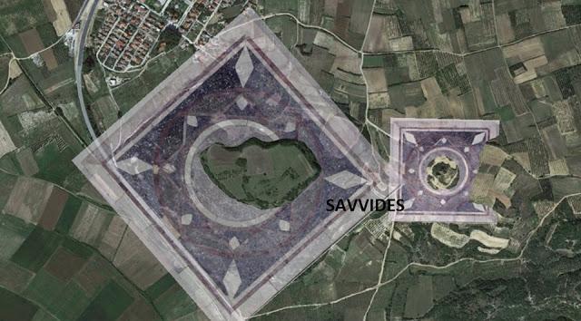 Ο Καστάς Είναι Ένας Τέλειος Κύκλος και ο Λόφος 133 Φαίνεται ως ένα Τέλειο Τετράγωνο Τεραστίων Διαστάσεων