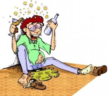 Ανέκδοτο: Ένας μεθυσμένος στον οίκο αvοχής, με δύο φίλους