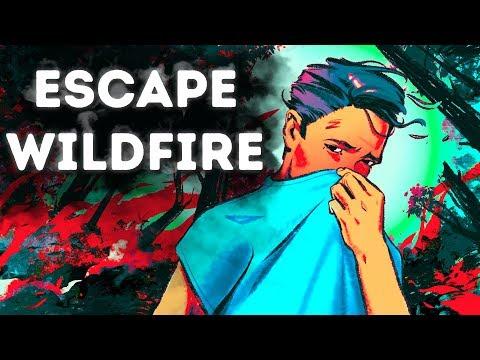 Πυρκαγιές: Ο Μόνος Τρόπος να Βγείτε αν έχετε εγκλωβιστεί σε ένα δάσος που καίγεται