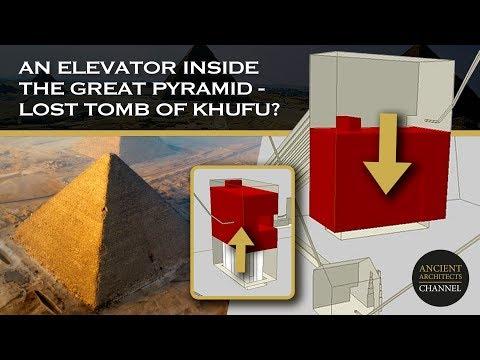 Υπήρχε Αρχαίος Ανελκυστήρας μέσα στην Μεγάλη Πυραμίδα της Αιγύπτου;