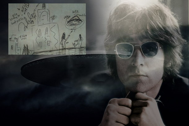 Το σκίτσο που δημιούργησε ο John Lennon μετά από μια εξωγήινη συνάντηση