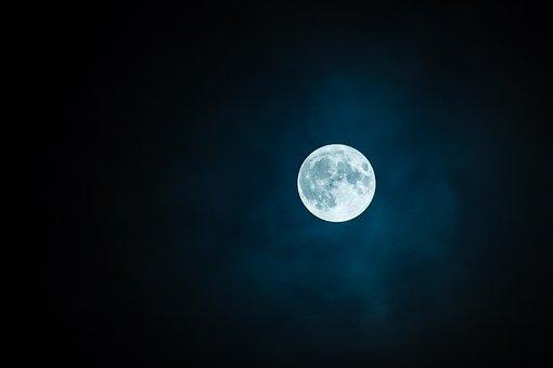 Φονικές ακτίνες γάμμα κάνουν το Φεγγάρι πιο Φωτεινό από τον Ήλιο (εικόνες)
