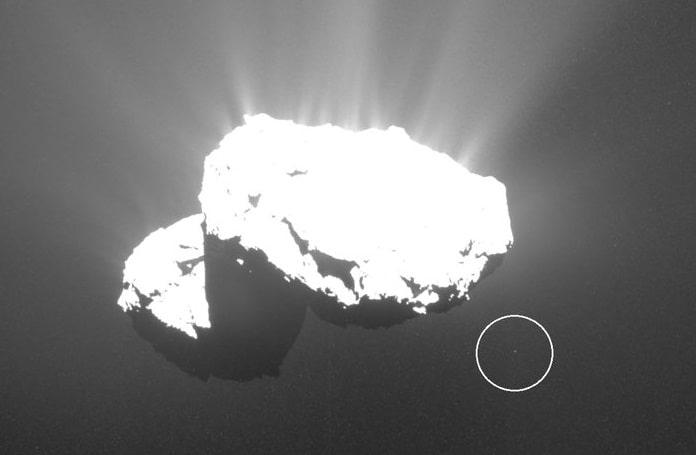Άγνωστο Αντικείμενο Απογειώνεται από τον κομήτη Churyumov-Gerasimenko