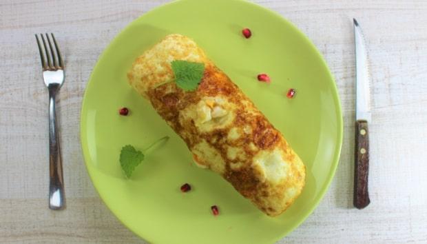 Ρολό Πατάτας Γεμιστό με Τυρί και Ζαμπόν! Μία πρωτότυπη ιδέα που θα ενθουσιάσει τη γεύση σας
