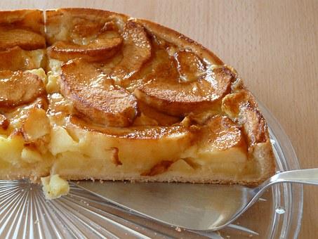 Ωραιότατη μηλόπιτα χωρίς αυγά και βούτυρο