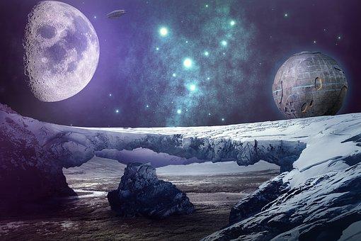 Βρέθηκε παράξενο γυαλιστερό ζελέ στη «σκοτεινή» πλευρά της Σελήνης