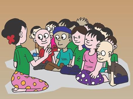 Ανέκδοτο: Ο Τοτός λέει μία παροιμία στην τάξη σε παντομίμα