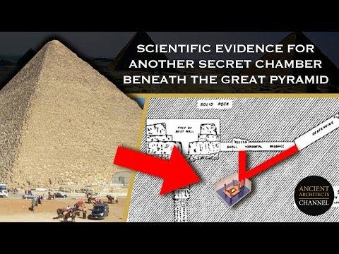 Μία ακόμα κρυφή αίθουσα κάτω από τη Μεγάλη Πυραμίδα μέσα από επιστημονικά στοιχεία