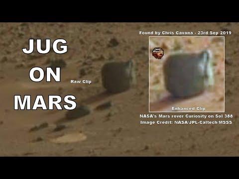 Μία κανάτα με χερούλι στον πλανήτη Άρη (video)