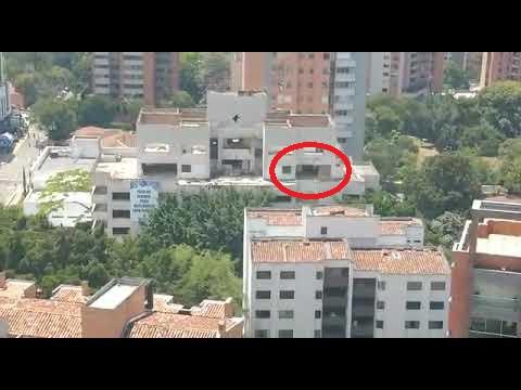 Ανήσυχο φάντασμα εμφανίστηκε σε κτίριο του Εσκομπάρ λίγο πριν την κατεδάφιση του (video)