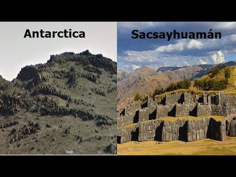 Σημάδια πιθανού αρχαίου πολιτισμού στην Ανταρκτική (video)