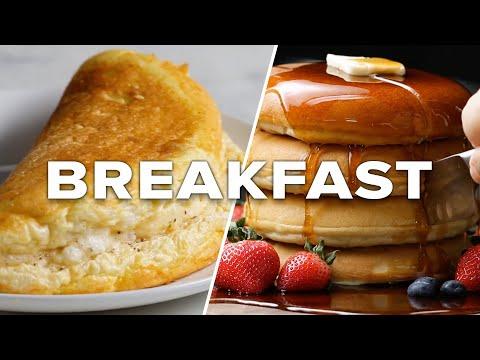 Πέντε γλυκές και αλμυρές συνταγές για ένα πλούσιο πρωινό με ενέργεια όλη την υπόλοιπη μέρα