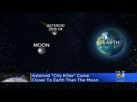 Αστεροειδής πέρασε πολύ κοντά από τη Γη και η NASA τον αντελήφθη τελευταία στιγμή