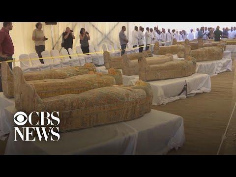 Θαμμένες επί 3.000 χρόνια οι σαρκοφάγοι στο Λούξορ αποτελούν μια από τις μεγαλύτερες ανακαλύψεις στην Αίγυπτο