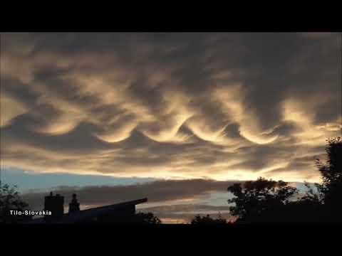 Απόκοσμα σύννεφα και «μηχανικό» ουρλιαχτό στον ουρανό της Σλοβακίας έκανε άπαντες να αναρωτιούνται, ακόμα και τους επιστήμονες (video)