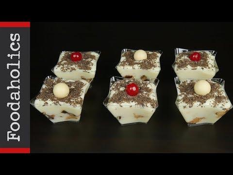 Λευκό προφιτερόλ με κρουασανάκια και 4 υλικά