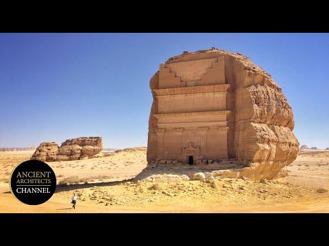 Μια χαμένη αρχαία πόλη λαξευμένη σε στερεό βράχο στη μέση της ερήμου (video)