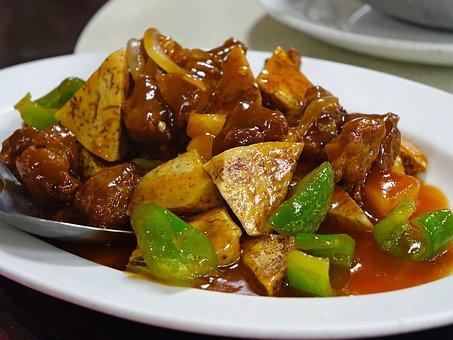 Συνταγή για ζουμερή χοιρινή τηγανιά