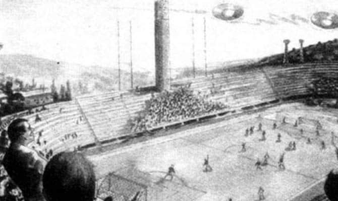 Αγώνας ποδοσφαίρου διακόπηκε λόγω ΑΤΙΑ. Η πρώτη ιστορική φορά που καταγράφηκε σε φύλλο αγώνος παρόμοιο γεγονός