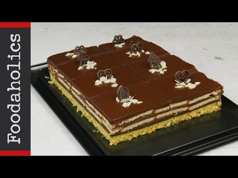 Πρωτότυπη σοκολατίνα πάστα με μπισκότο