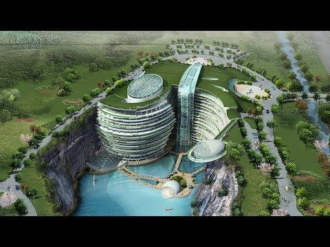 Το πρώτο ξενοδοχείο μέσα σε λατομείο που προσφέρει θέα στον «κάτω κόσμο»