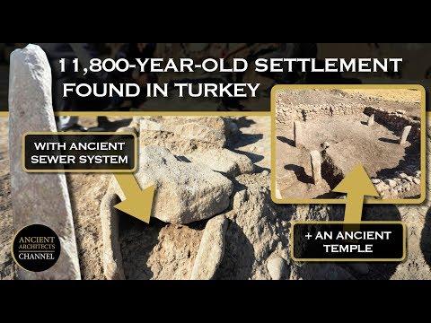 Αρχαίος οικισμός με αποχέτευση 11.800 ετών στην σημερινή Τουρκία