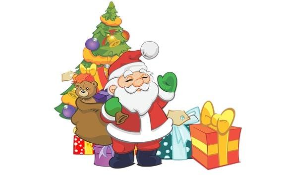 Ανέκδοτο: Ο άγιος Βασίλης και το αγγελάκι που το έφερε το χριστουγεννιάτικο δέντρο