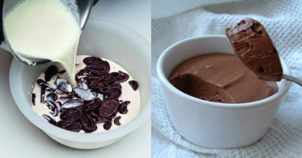 4 εύκολα γλυκά με 2 υλικά, το καθένα, ιδανικά για αρχάριους