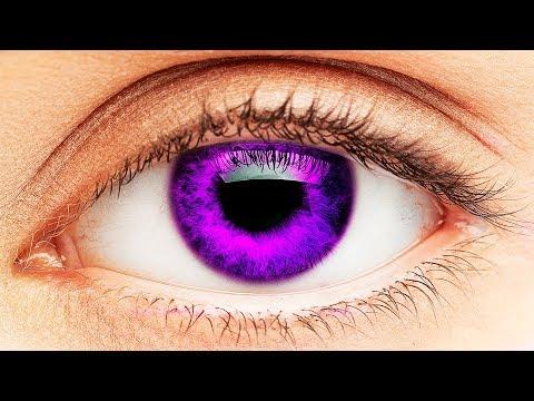 Tα πιο σπάνια χρώματα ματιών σε όλο τον κόσμο (video)