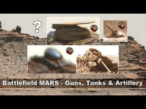Σχηματισμοί στον Άρη που θυμίζουν τεθωρακισμένα και πεδίο μάχης (video)