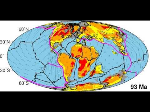 Πως ήταν η Γη πριν 200 εκατομμύρια χρόνια: Από την Παγγαία στις έξι ηπείρους (video)