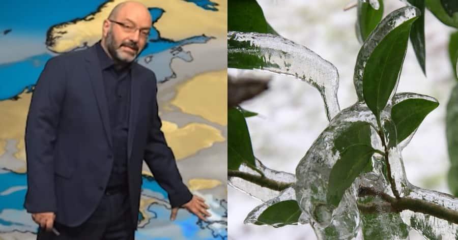 Σάκης Αρναούτογλου: Έρχεται το φαινόμενο της «παγωμένης βροχής». Τι είναι και που θα χτυπήσει