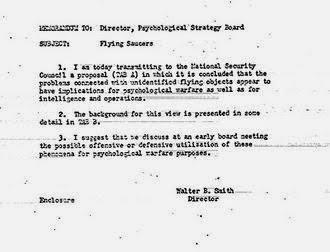 Έγγραφο της CIA αποκαλύπτει ένα μυστικό σχέδιο ψευδούς εξωγήινης εισβολής